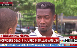 Dallas Shooting Eyewitness