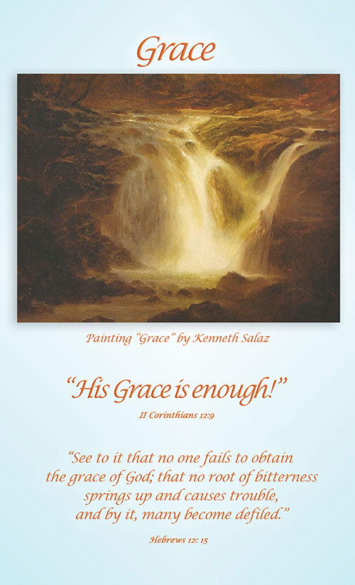 Grace Poster 8.5 X 14